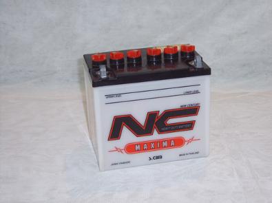 Automotive batteries 12n24
